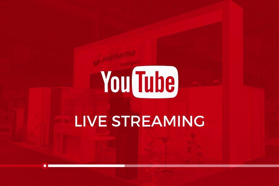 exhibit rentals youtube live streaming