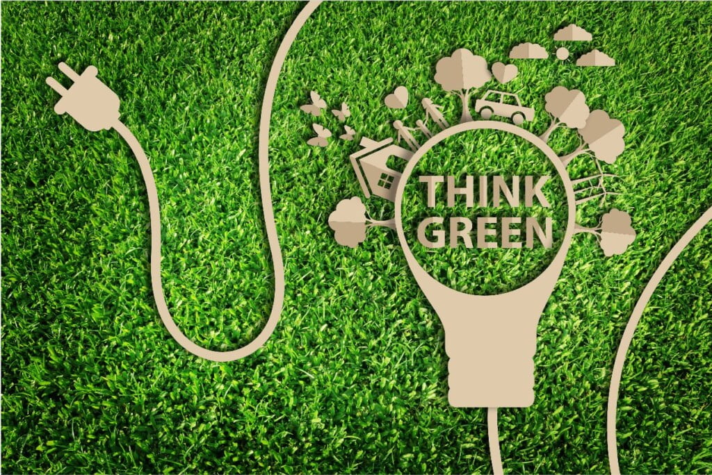 exhibit rentals think green