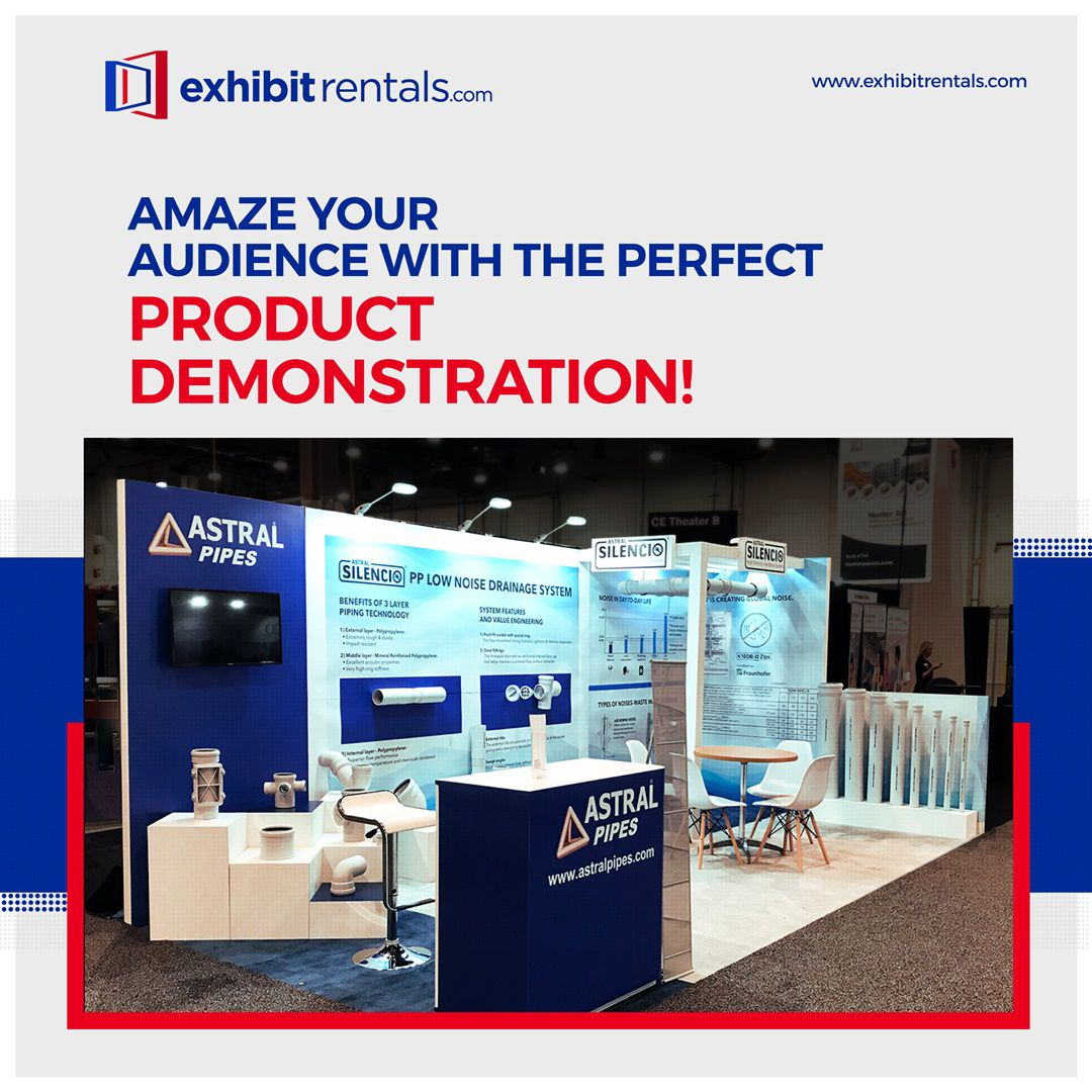 exhibit rentals product demonstration