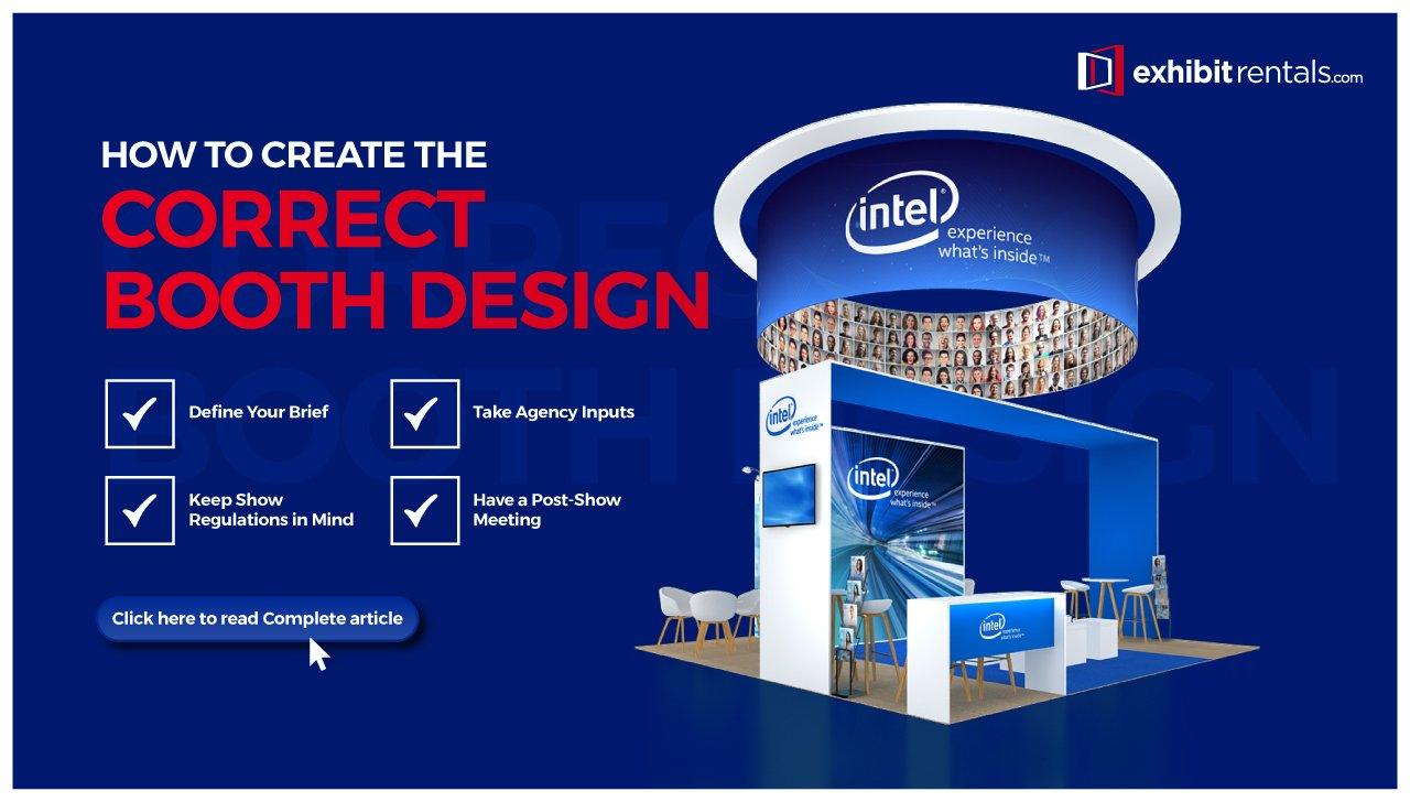 Creating the Correct Booth Design for Your Next Trade Show