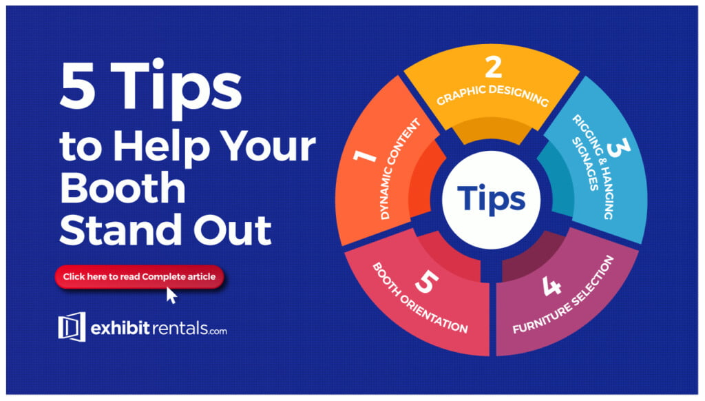 Exhibit Rentals tips to help your booth stand out