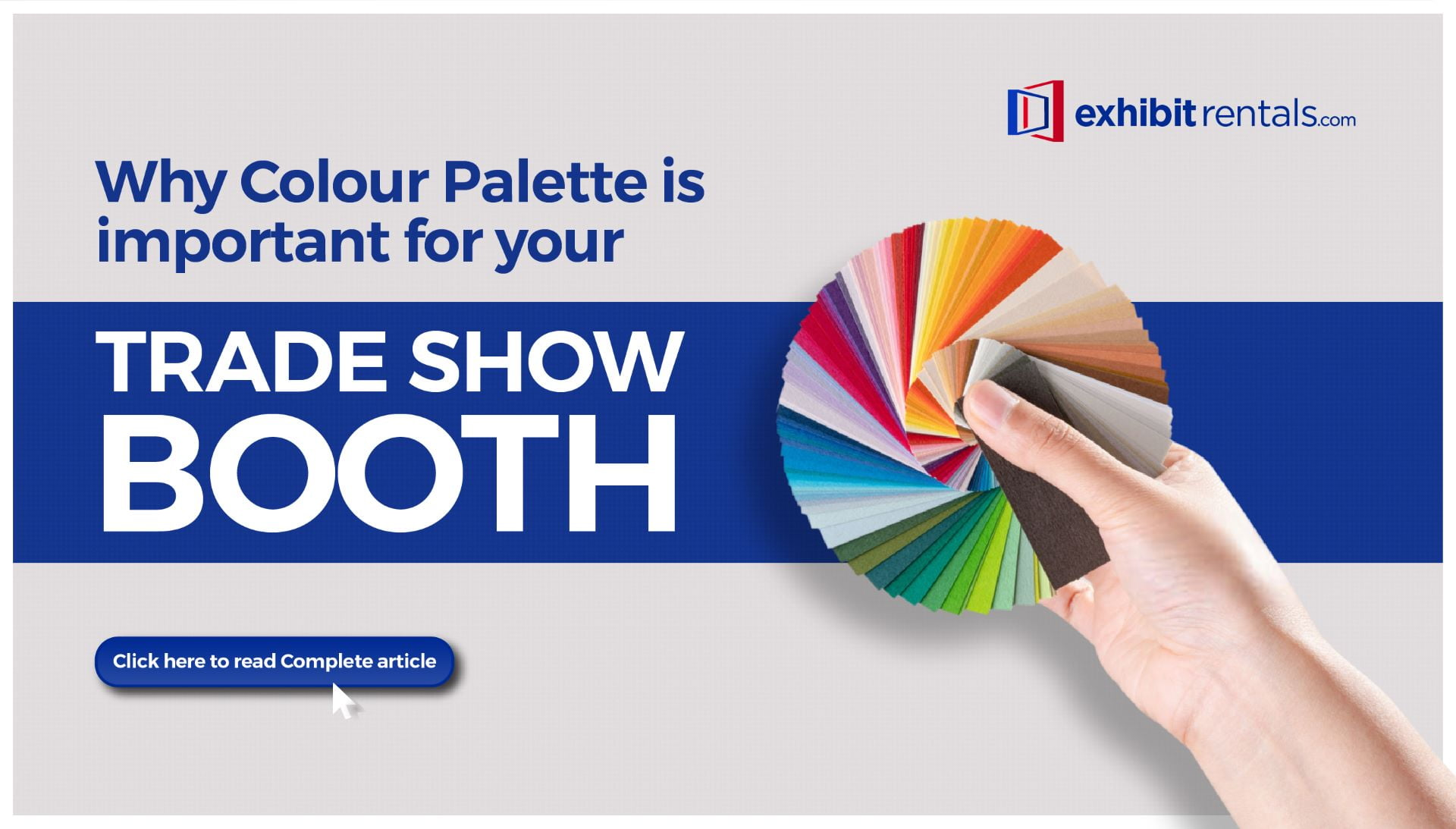 Why Colour Palette is Important for Your Trade Show Booth