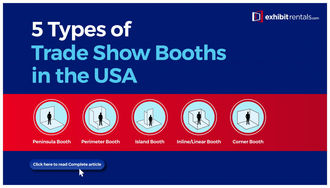 5 Types of Trade Show Booths in the USA