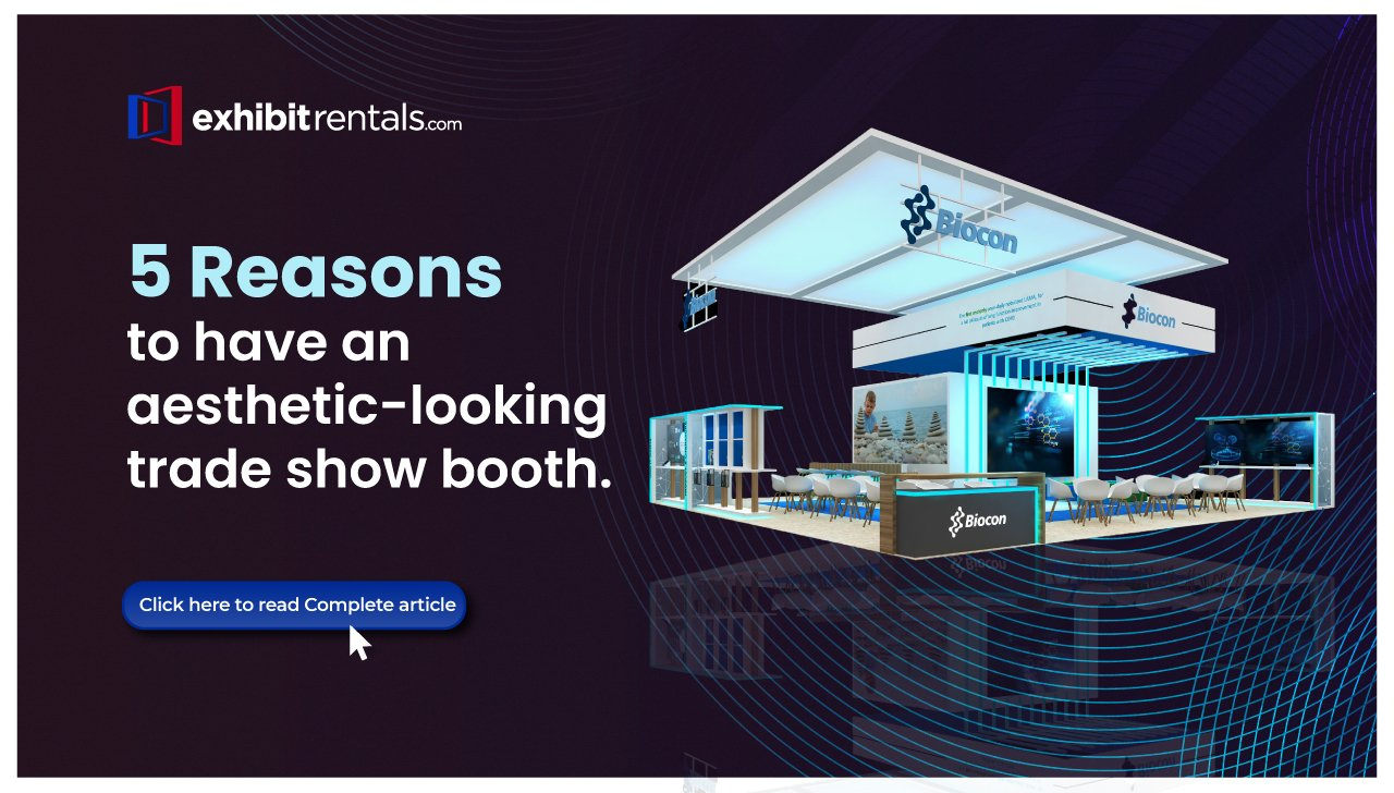 Why Aesthetics are Important for your Trade Show Booth
