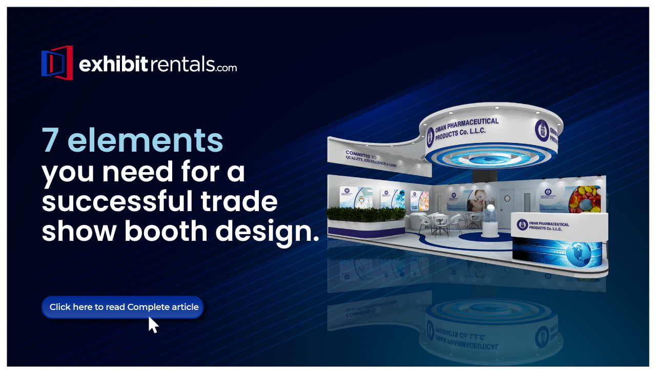 7 Elements of Trade Show Booth Design