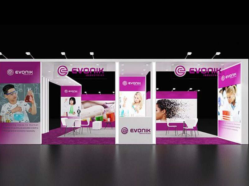 booth design made by exhibit rentals