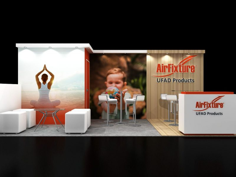 Exhibit Rentals designs for trade show booths