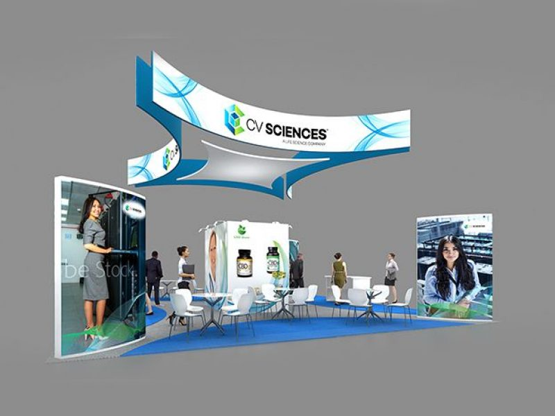 booth designs by exhibit rentals for trade shows