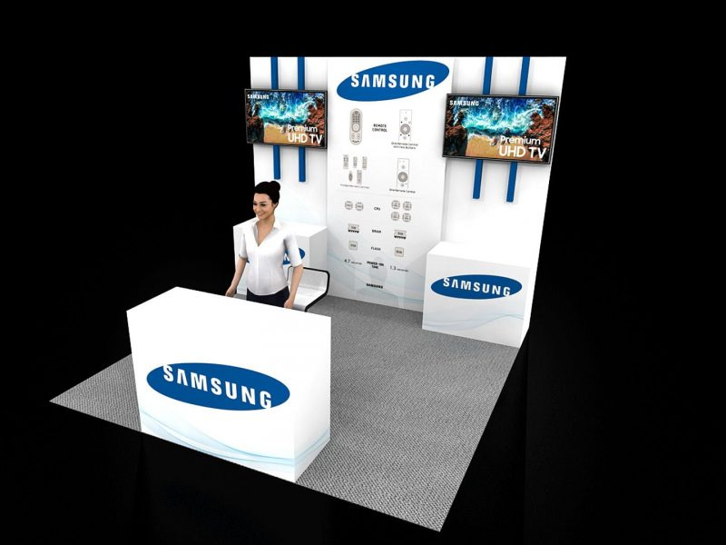 Exhibit Rentals exhibitions booth designs