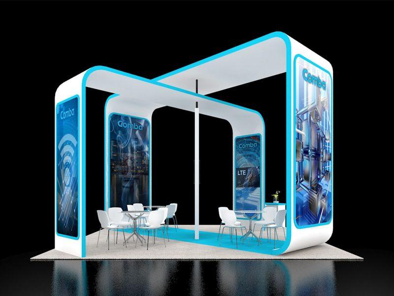 Exhibit Rentals booth designs