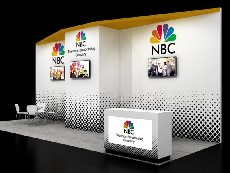 Exhibit Rentals exhibition booth designs NBC