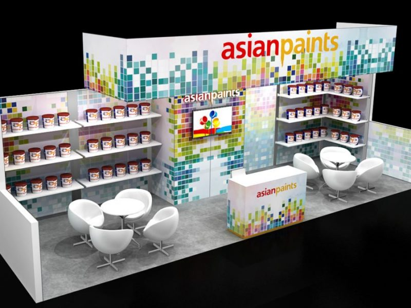 Exhibit Rentals exhibition booth designs